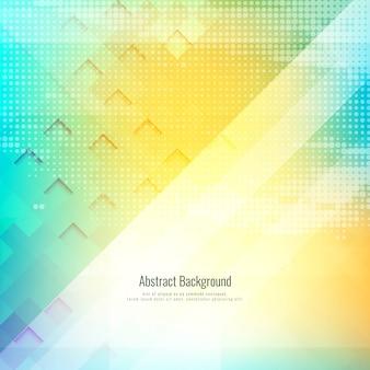 Abstracte heldere kleurrijke geometrische achtergrond
