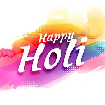 Abstracte kleurrijke holi festival achtergrond