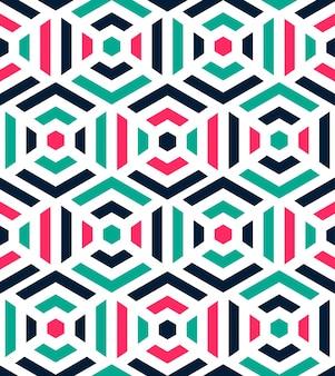 Abstracte kleurrijke patroon
