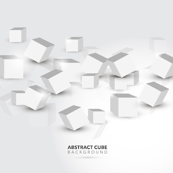 Abstracte kubus achtergrond