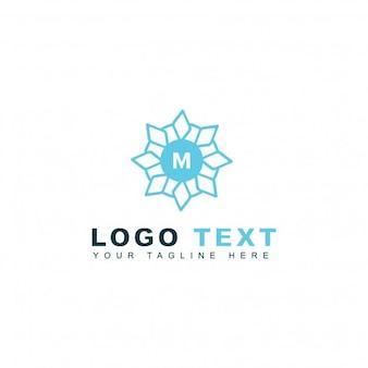 Abstracte letter m logo