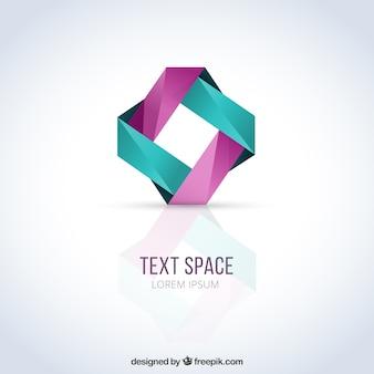 Abstracte logo template