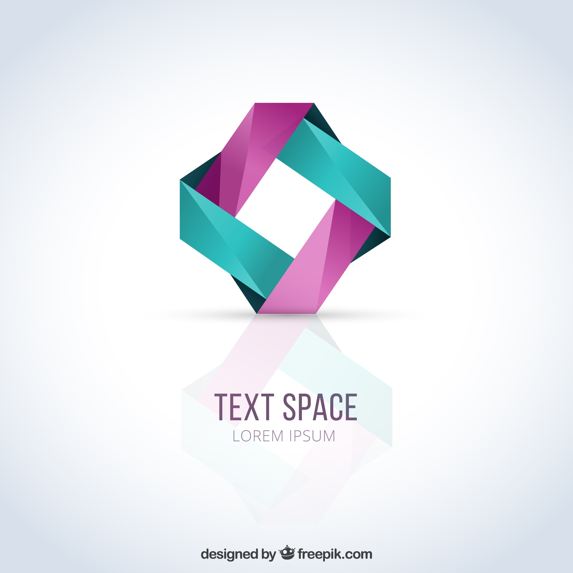 Abstracte logo template