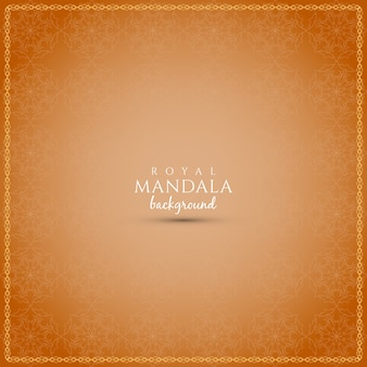 Abstracte mandala ontwerp achtergrond