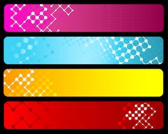 Abstracte ontwerpachtergronden