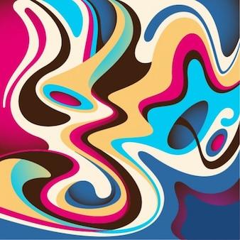Abstracte verf achtergrond vector
