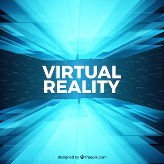 Abstracte virtual reality achtergrond