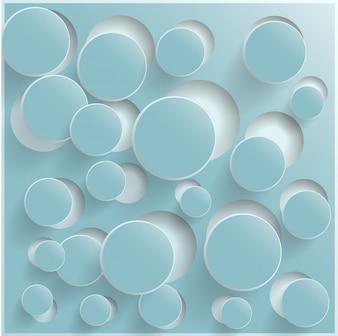 Abstracte web design bubble, vector