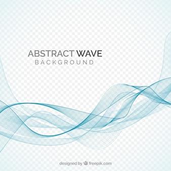 Achtergrond met abstracte golvende vormen