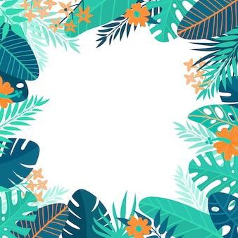 Achtergrond van de zomer ontwerp