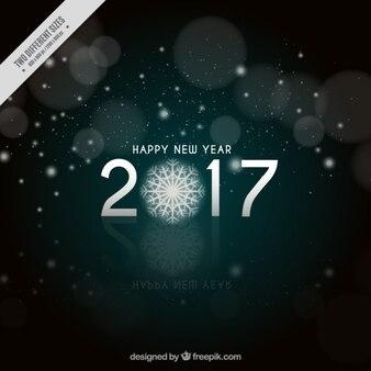 Achtergrond van het nieuwjaar 2017 Groet