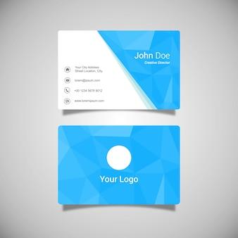Adreskaartje sjabloon ontwerp