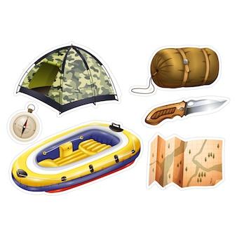 Adventure elementen collectie