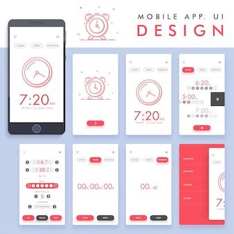 Alarm app ontwerp