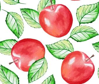 Appel naadloos patroon