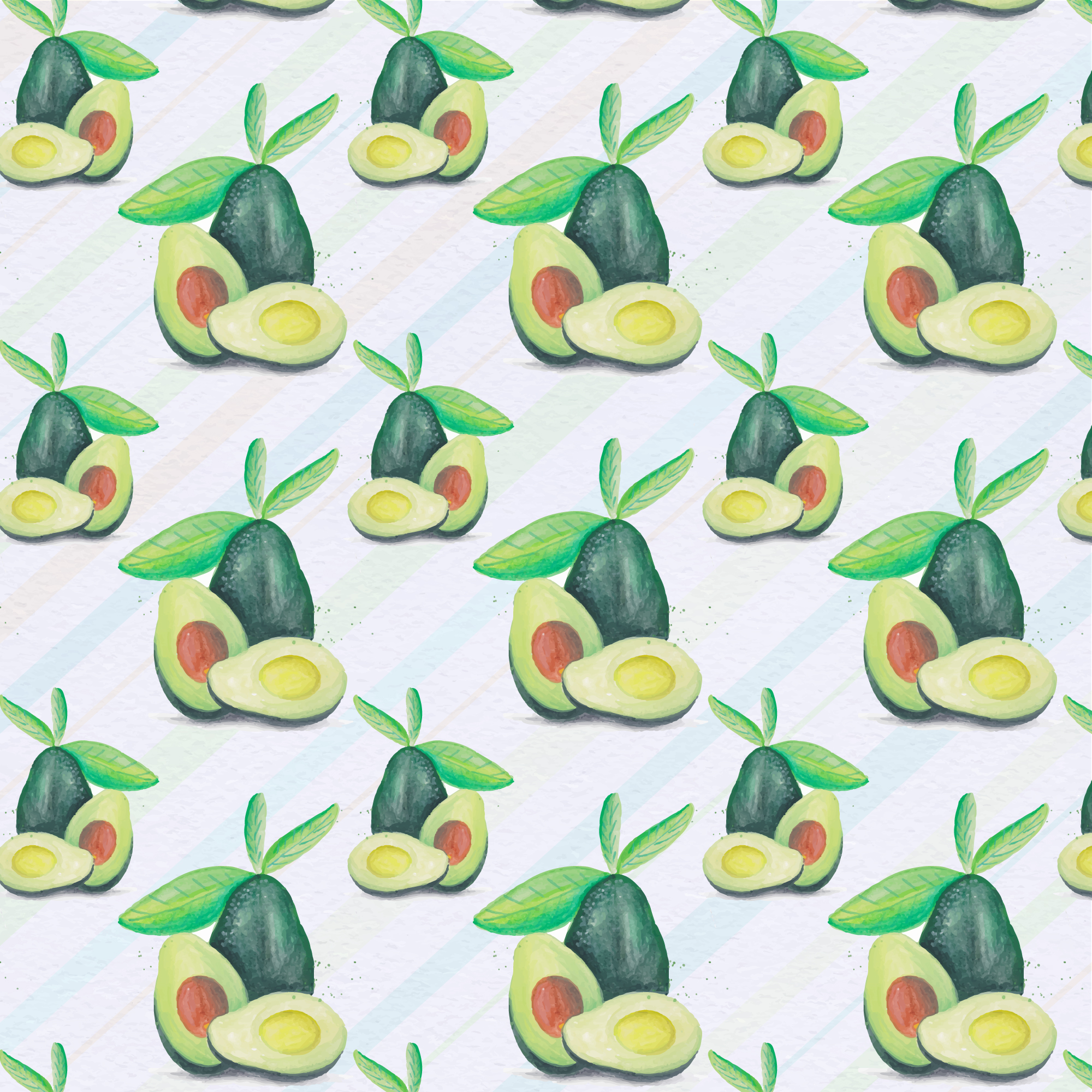Avocado patroon backgorund