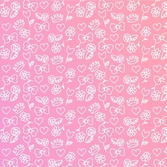 Baby Girl bewerkbare Pattern
