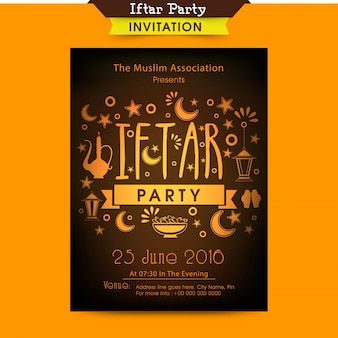 Banner brochure flyer islamitische vakantie