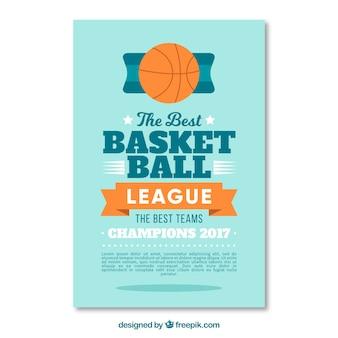 Basketball League flyer