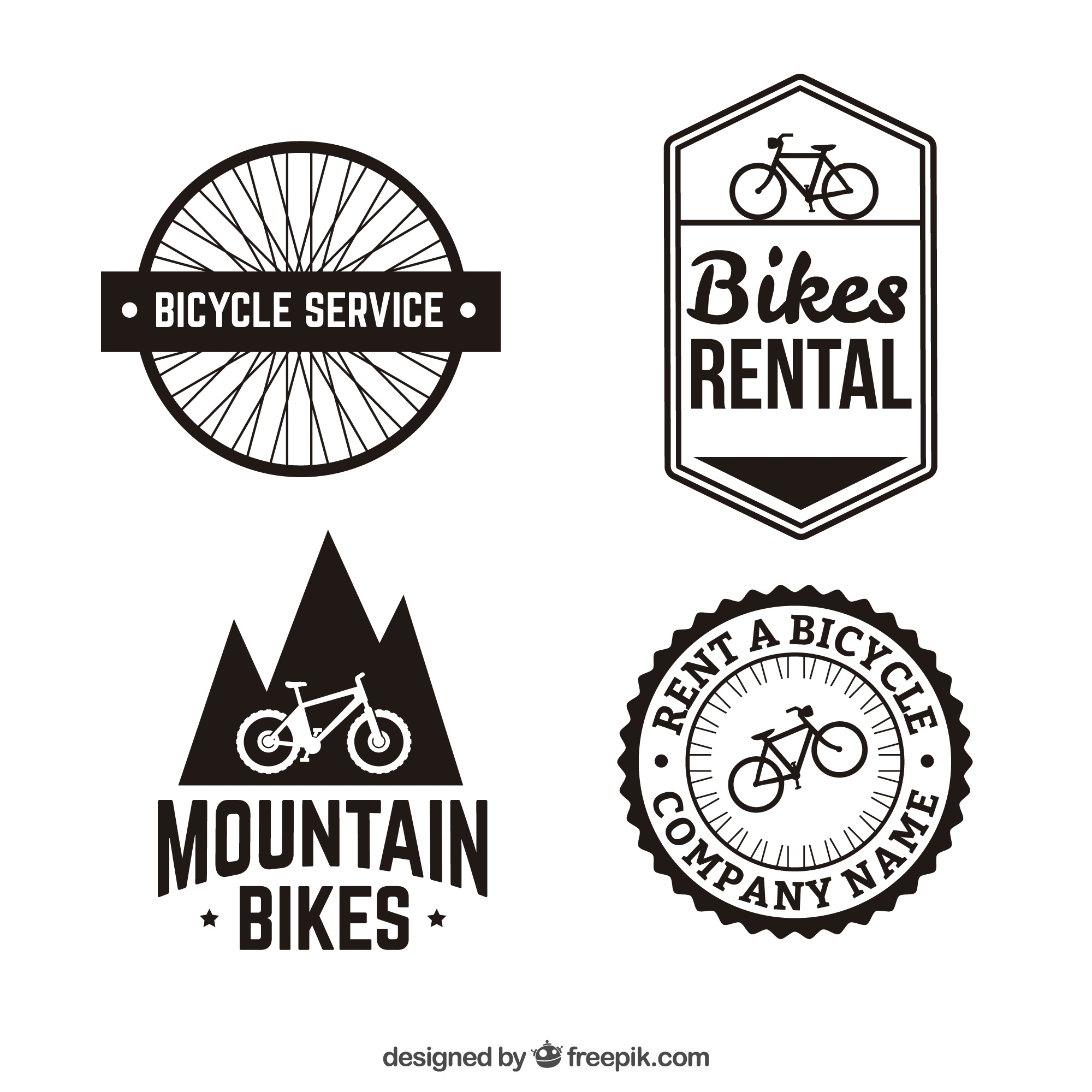 Bike badges
