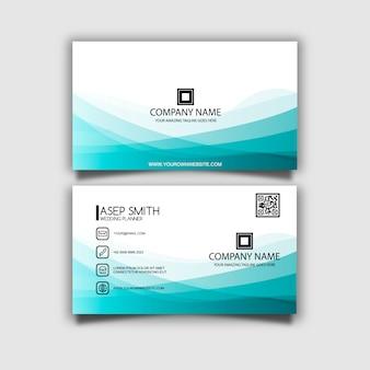 Blauw-wit visitekaartje