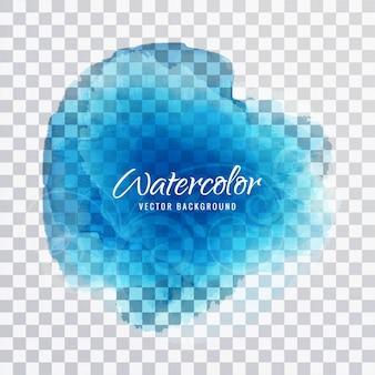 Blauwe aquarel ontwerp
