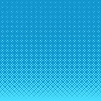 Blauwe halftone punten achtergrond