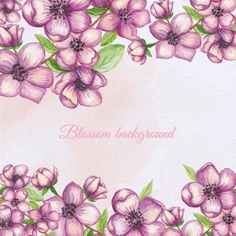 Bloemen frame achtergrond