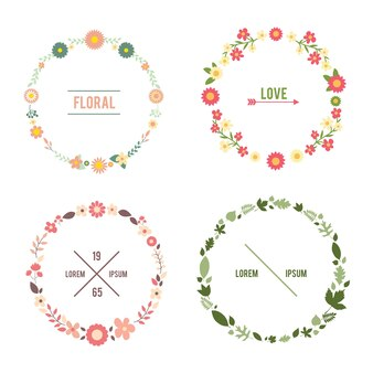 Bloemen frame set