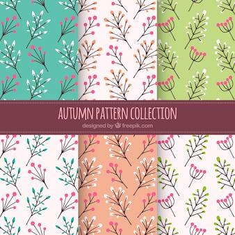 Bloemen herfst patroon