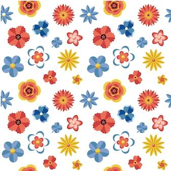Bloemen patroon achtergrond