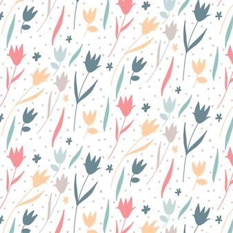 Bloemenpatroonontwerp