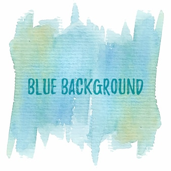 Blue aquarel achtergrond