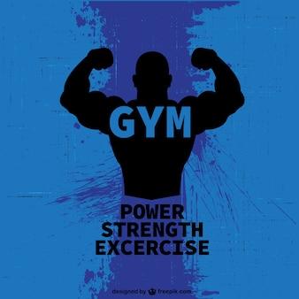 Bodybuilder gratis logo