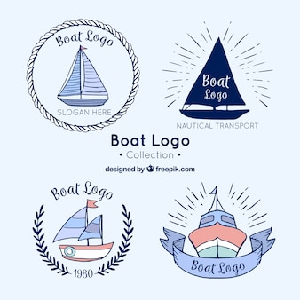 Boot logo collectie