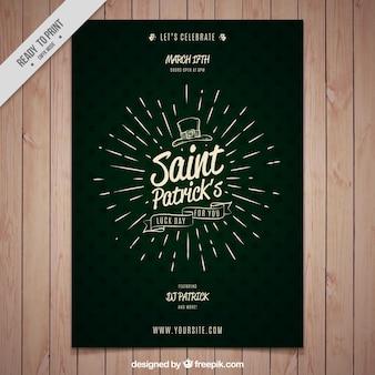 Brochure groene vintage st. Patrick's dag