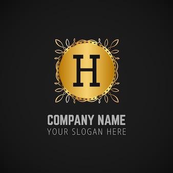 Business logo en de slogan achtergrond