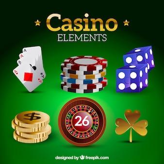 Casino elementen collectie