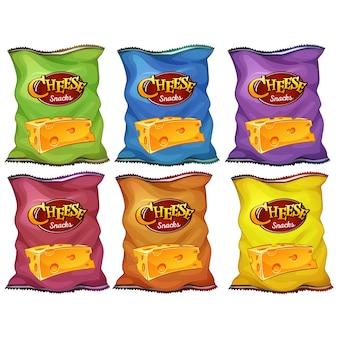 Chip tassen collectie