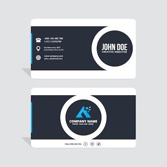 Collectieve hoek gebouw Business card