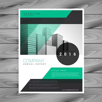 Company business flyer brochure sjabloon