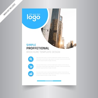 Corporate Business Vector Flyer Template
