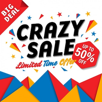 Crazy verkoop