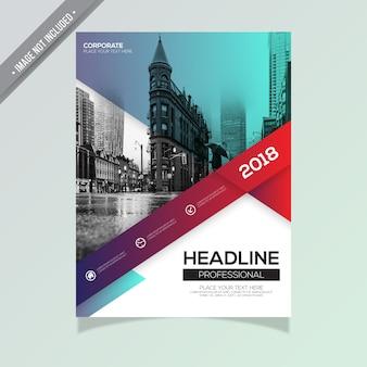 Creatieve zakelijke brochure