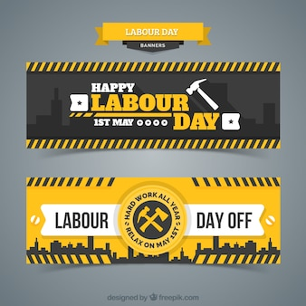 Dag van de Arbeid banner