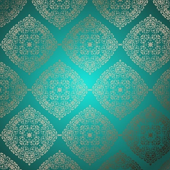 Decoratieve achtergrond met een elegant patroon