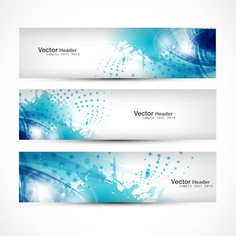 Decoratieve Banner Collection