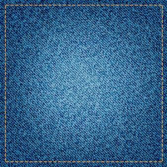 Denim textuur of achtergrond