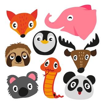 Dieren karakter ontwerp