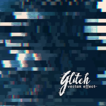 Digitale glitch vector abstracte achtergrond